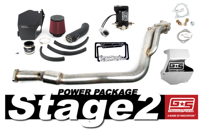 GrimmSpeed Stage 2 Power Package 08-14 Subaru WRX - 191002