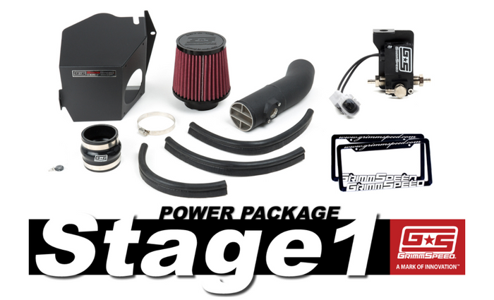 GrimmSpeed Stage 1 Power Package 08-14 Subaru WRX - 191001