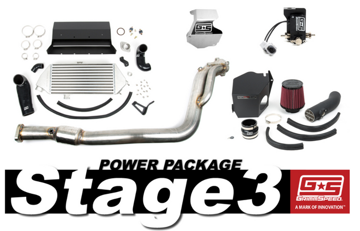 GrimmSpeed Stage 3 Power Package 08-14 Subaru WRX - 191003