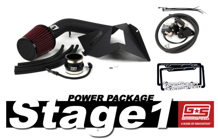 GrimmSpeed Stage 1 Power Package 15+ Subaru WRX - 191010