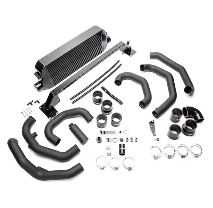 Cobb Front Mount Intercooler Kit (Black) 15-17 Subaru STI