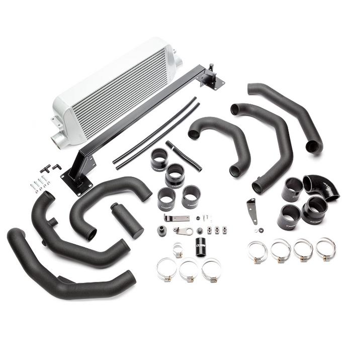 Cobb Front Mount Intercooler Kit (Silver) 15-17 Subaru STI