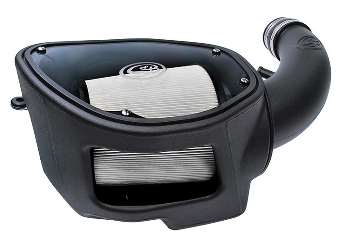 S&B Cold Air Intake 75-5084D for 07-11 Jeep Wrangler JK 3.8L (Dry Extendable Filter)