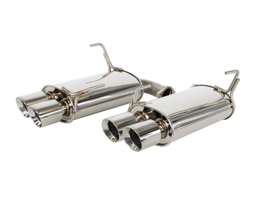 GrimmSpeed Resonated Catback Exhaust System 11+ Subaru WRX/STi Sedan