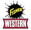 """84446 FISHER - WESTERN - SNOWEX  HOSE 1/4""""x 14"""" W/FJIC ENDS"""