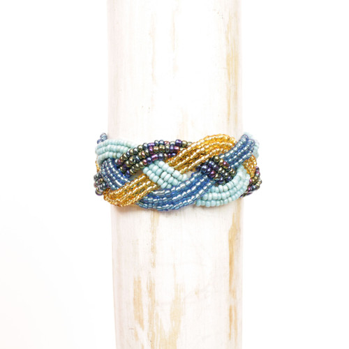 Mixed Interwoven Bracelet