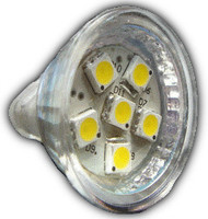 6-LED MR11 Bulb - Power Cluster Viton (MR11-06)