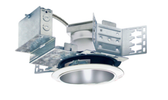 "The LEDH-AFK6  is  a  6""  LED  Architectural  frame-in  Kit and  is  available with  multiple Trim  styles.  Designed  for use in  non-insulated ceilings,  insulation material must be  kept a  minimum  of 3"" from  fixture.  Available with  a  SOW,  60W,  70W  or 90W  high  efficacy  LED  engine  and universal,  dimmable drivers.  The special optical  diffuser produces  high  lumen  transmission  and even  illumination. Suitable  for Wet Locations."