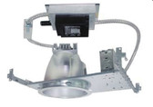 "6"" flat frame-in kits combined with LED module and integral reflector. This is designed for use in non-insulated ceiling. Insulation material must be kept a minimum of 3"" from fixture. Provided in high efficacy LED with dimmable driver and the special optical diffusion allows high lumen transmission and light uniformity."