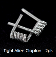 Pre-Built Tight Alien Clapton Coils (2pk)