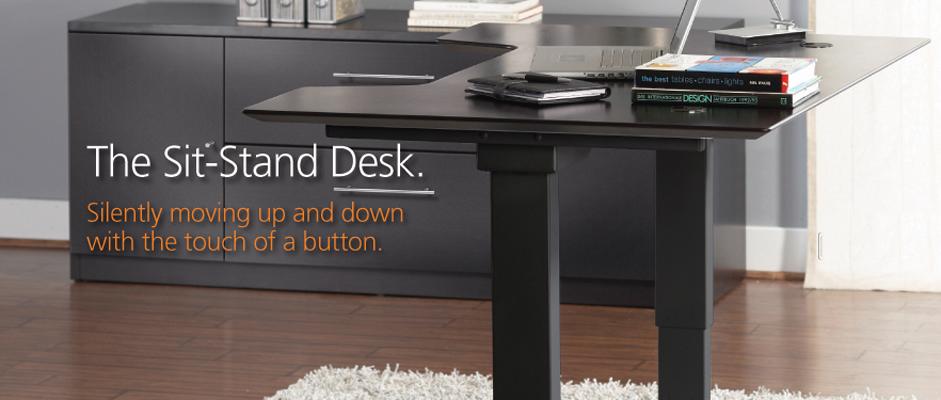 sitstand desks existing sit down desk