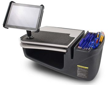 AutoExec Mobile Desk with Ipad Tablet Mount (AEGrip-03)