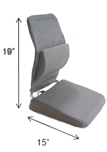 Sacro Ease Lifting Wedge Seat Cushion & Back Support