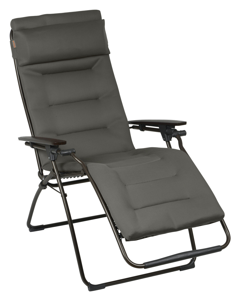 lafuma futura air comfort taupe padded zero gravity recliner. Black Bedroom Furniture Sets. Home Design Ideas