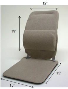 Sacro Ease Model BRSN for Narrow Backed Bucket Car Seat