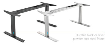 Height Adjustable Table/Desk Frame Only