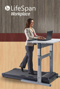 Office Walking Buddy Treadmill Desk Lifespan TR1200-DT7