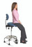 Sit Stand, Backrest & Foot Rest Ring For Drafting Stool or Office Chair