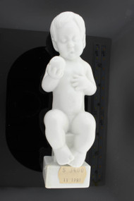 """Bing & Grondahl White Glaze """"Eve"""" Figurine #2230 by Svend Lindhart ~Discontinued"""