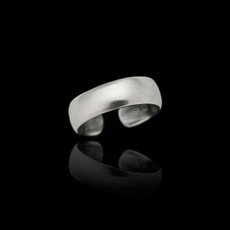 Sterling Silver Bold Plain Toe Ring