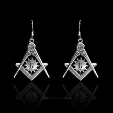 Masonic Earrings
