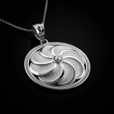 Silver Armenian Pendant Necklace