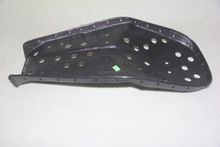 Metal seat pan with black powder coated pan