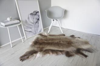 Genuine Super Soft - Extra Large Scandinavian Reindeer Skin Rug  RE 280