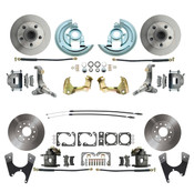 DBK62671012  - 1962-1967 Chevrolet Nova Front & Rear Standard Disc Brake Conversion Kit