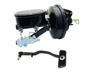 FD-403  1967-1970 Ford Mustang Wilwood Style Oval Master Cylinder Booster Conversion Kit (Disc/ Drum)
