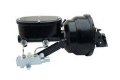 """GM-413 GM 1967-1980 F Body Wilwood Style 8"""" Dual Powder Coated Black Booster Conversion Kit (Disc/ Disc)"""