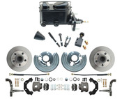 DBK6272-MP-110 1962-72 Mopar B & E Body Standard Manual Master Front Disc Brake Conversion Kit
