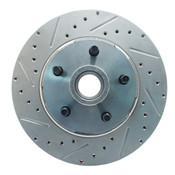 5306LX-  1964-1973 Ford Mustang Drilled/ Slotted Rotor