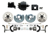 DBK6272LX-BCK8536-2  - 1966-70 B Body 1971-74 E Body O.E.M. Style Disc Brake Kit & Booster Conversion