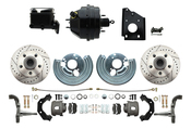 DBK6272LX-BCK8536-1  - 1966-1970 B Body Style Disc Brake Conversion Kit & O.E.M. Booster Conversion w/ Casting Numbers