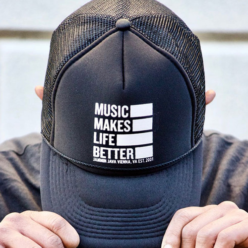 Music Makes Life Better Trucker Hat