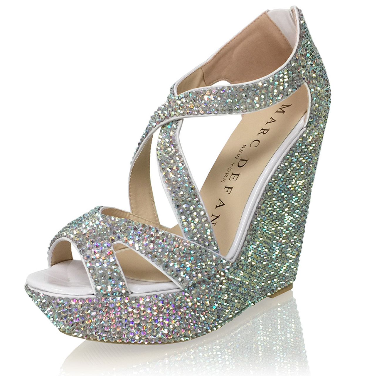 Crystal Sandals | Wedding Heels | Bridal Sandal Heels