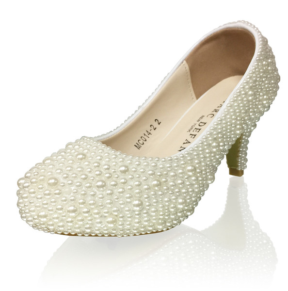 Tween  Pearl Pumps
