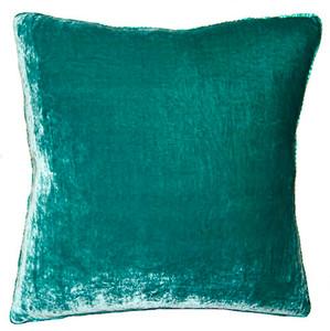 Aqua Velvet Pillow