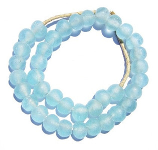 Decorative Glass Trade Beads in Aqua