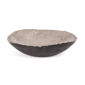 Hammered Nickel Bowl