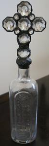 Vintage Crystal Cross Bottle