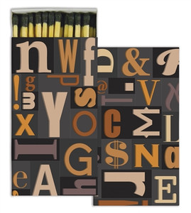Typeset Matches