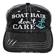 Boat Hair Trucker Hat