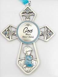 Crib Cross Ornament