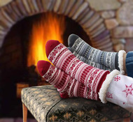 Knit Thermal Slipper Socks