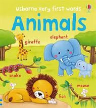 Usborne Very First Words Animals Book