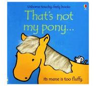 Usborne That's not my pony...Book