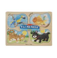 Peg Puzzle Pets