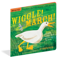 Indestructible Wiggle! March! Book